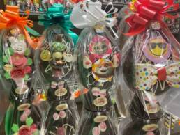 Uova di Pasqua decorate 700 grammi